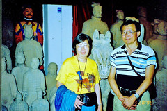 1999china388 (AAAPOE and 1China1 Photos at flickr) Tags: terracotta xian tour pool museum 10 warriors day china 19990928 huaqing
