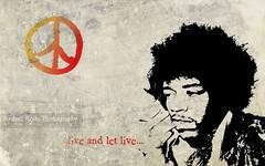 ... Live and Let Live ... (Andrea Kollo Photography) Tags: peace fineart hendrix rocknroll jimihendrix rockandroll fineartphoto liveandletlive fineartphotograph andreakollo andreakollophotography jimihendrixart rockfineart texturalphoto