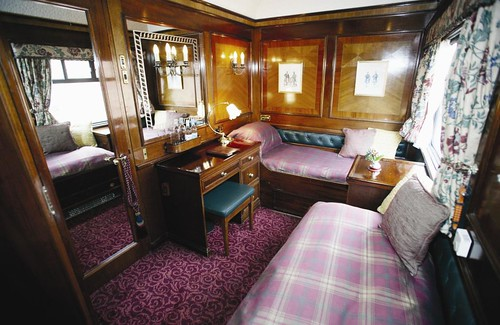 Royal Scotsman train, Scotland
