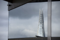 The Shard Reflected (Something For Kate) Tags: city uk london nikon cityscape view unitedkingdom landmarks landmark gb shard the f3556g 18300mm theshard d5100
