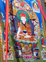 P1020252 The Great banner unveiled! Phyang, Ladakh PS  (peteshep) Tags: india festival buddhism ps thangka ladakh thanka phyang 2013 phiyang peteshep copyrightphoto phyangmonastery tsedup fz200 drigungpa tsedrup langenlat34186339lon77489389z18mbsearchphyang