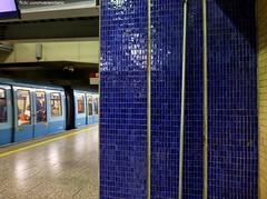 Estacin Los Hroes - Metro de Santiago (RiveraNotario) Tags: chile santiago metro metrodesantiago patrimonio mosaicos loshroes estacinloshroes metroloshroes metrolnea1 salvemoslosmosaicos