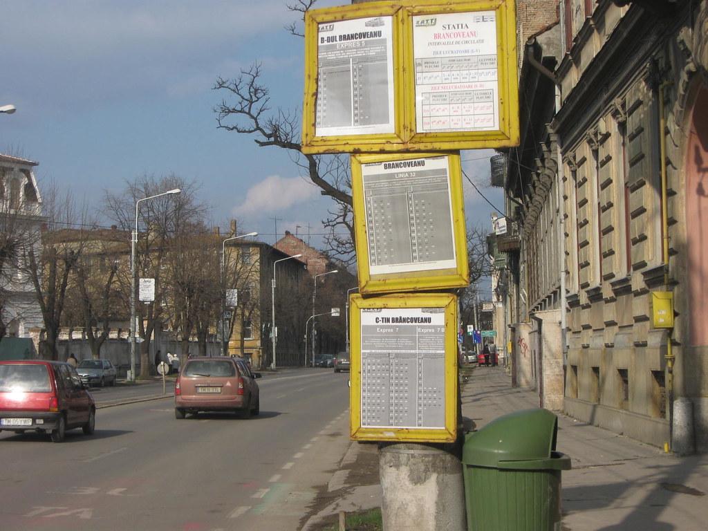 Picture 059 (Visor-Timisoara) Tags  urban bus public station panel  transport romania 5187d8f1145