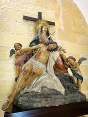 Pieta, Cathedral of San Salvador, Jerez de la Frontera (Stephen Walter) Tags: santiago walking spain europe camino cathedral andalusia cdiz pilgrimage sansalvador religiousart piet jerezdelafrontera longdistancewalking viaaugusta