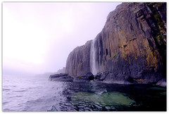 Kilt Rock Waterfall, Skye, Scotland