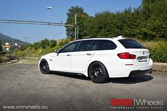 VMR Wheels V703 Matte Black - BMW 5er F11 LCI (VMR Wheels Europe) Tags: black wheels bmw f11 19 matte vmr zoll 5er lci alufelgen felgen vb3 v703 alurder