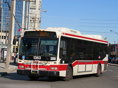 Toronto Transit Commission 1363 (YT | transport photography) Tags: toronto bus ttc orion ng hybrid vii hev