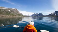 (Haukurrr) Tags: summer sun kayak arctic adventure kayaking greenland fjord naturalhabitat eastgreenland 2013 feathercraft ammassalik nathab angmagsalik summer2013