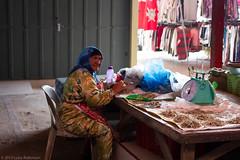 Dried Fish Seller, Dungun Market (Luke Robinson) Tags: asia honeymoon market malaysia dropbox terengganu dungun 2013 tanjungjara kualaterangganu