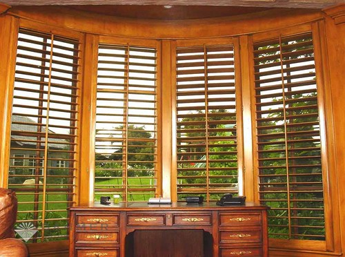 The Louver Shop Montgomery features Hunter Douglas shades