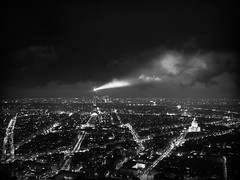 paris at night (scrapenbaker) Tags: city light white black paris france tower clouds nikon view eiffel coolpix