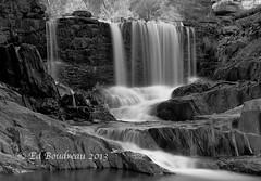Bissell Falls (Ed Boudreau) Tags: autumn fall water rock landscape waterfall stream massachusetts falls massachusettslandscapeoldrockbridge westermmassachusetts