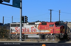 Santa Fe #120 (Walt Barnes) Tags: railroad santafe train canon eos rail richmond calif equipment machinery locomotive bnsf emd dieselelectric gp60m 60d canoneos60d bnsf120 eos60d wdbones99