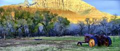 Abandoned Tractor Grafton Utah (lhg_11, 2million views. Thank you!) Tags: landscape utah farming mormon 500views lds magichour grafton ghosttowns 100comments mygearandme mygearandmepremium mygearandmebronze
