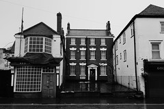 The Bell Inn, Willenhall 13/10/2013 (Gary S. Crutchley) Tags: street uk travel england urban bw white black west heritage history clock beer monochrome angel bar ed mono town pub inn alley nikon memorial raw place bell market britain dr united country great ale kingdom s tonks tavern and local af nikkor passage townscape staffordshire westmidlands walsall midlands d800 blackcountry 1635mm hostelry willenhall f40g walsallweb walsallflickr