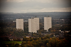 From The Top of Whitevale (stuballscramble) Tags: uk scotland cityscape view zoom glasgow highrise distant whitevale sandyhills gallowgate