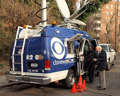 CBS News Satellite Truck, Deadly Metro-North Passenger Train Derailment near the Spuyten Duyvil Station in the Bronx, New York City (jag9889) Tags: nyc railroad rescue newyork news cars station mobile train truck media crash accident bronx satellite tracks vehicle mta hudsonriver locomotive passenger ems antenna communications recovery cbs metronorth deadly reporting channel2 riverdale derailment harlemriver spuytenduyvil hudsonline 2013 metropolitantransitauthority jag9889 1212013