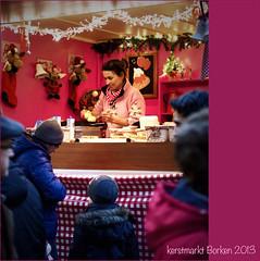 Wafelhuisje op Kerstmarkt Borken