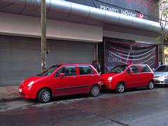 Chevrolet Spark 2005 & Chery iQ 2008 (RL GNZLZ) Tags: chevrolet qq daewoomatiz chevroletspark cheryiq daewoospark sparkdaewoo