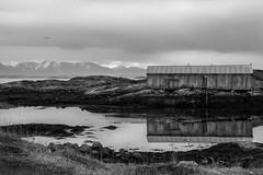 Bud (Steinskog) Tags: bud utsikt vann fjell snø hav fjære fræna stille møre