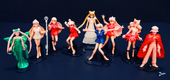 Sailor Make Up Figure (possiblezen) Tags: mars moon make up set doll venus princess mercury wand queen collection koan serenity figure stick pluto sailor jupiter gashapon bandai