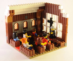 A vignette of a Lego church (Beth Tice) Tags: church legos vignette