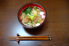 Ozoni for New Year 2014 (digitalbear) Tags: new food japan japanese tokyo f14 year fujifilm 23mm ozoni xe2