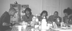 Negazione, december 1985, breakfast with Tony of B.G.K.