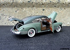 1948 Chevrolet Fleetline 2Dr AeroSedan (JCarnutz) Tags: 1948 chevrolet fleetline diecast 124scale danburymint