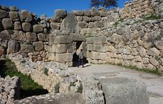 Lion Gate, interior walls, Mycenae, c. 1300-1250 B.C.E.