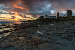 Sunset at Spanish Point (Graham Daly Photography (ASINWP)) Tags: ireland sunset coast landscapes clare seascapes spanishpoint