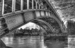 Richmond Rail Bridge (ArtGordon1) Tags: uk england london thames richmond riverthames 1908 richmondrailbridge davegordon davidgordon londontipton thehorseleycoltd artgordon1 daveartgordon daveagordon davidagordon