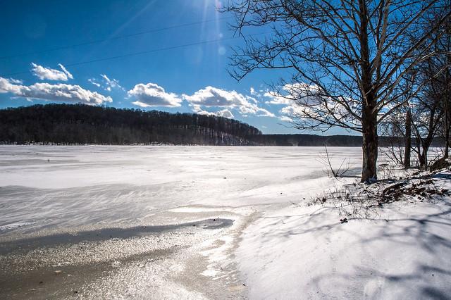 Lake Monroe - Pine Grove Ramp - January 25, 2014