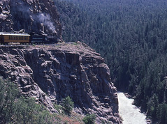 Durango & Silverton Narrow Gauge - 1985 (tonopah06) Tags: railroad rio grande colorado silverton co gauge narrow durango durangoandsilverton narrowgaugeanimas river1985kodachromedenver