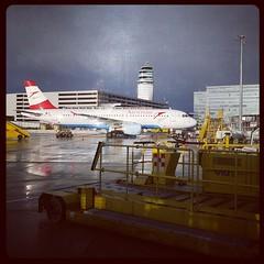#Austrian #wien #austria #airport (arakiboc) Tags: wien austria airport austrian uploaded:by=flickstagram instagram:photo=60482045356365487616780855 instagram:venuename=wien instagram:venue=167597218