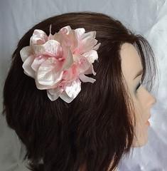 (lovelygiftsbylinda) Tags: wedding hair prom flowergirl bridal hairaccessory weddinghair fascinator hairornament bridalhair bridesmaidhair