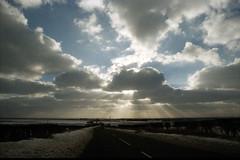Yorkshire Dales England Winter Sun Rays Jan 1997 003 ok (photographer695) Tags: england sun jan yorkshire 1997 rays ok dales