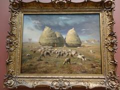 """Haystacks, Autumn"", Jean-François Millet (Caro en méli-mélo) Tags: newyorkcity ny newyork manhattan met metropolitanmuseumofart oiloncanvas haystacksautumnjeanfrançoismillet"