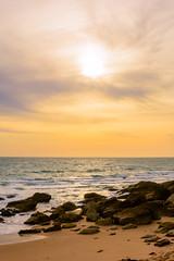 Cala de Conil al atardecer - 2 (cives-expat) Tags: españa playa curso experimentos conildelafrontera