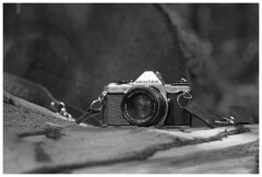 Pentax ME Super (Spartaxus) Tags: camera pentax kodak tmax mesuper