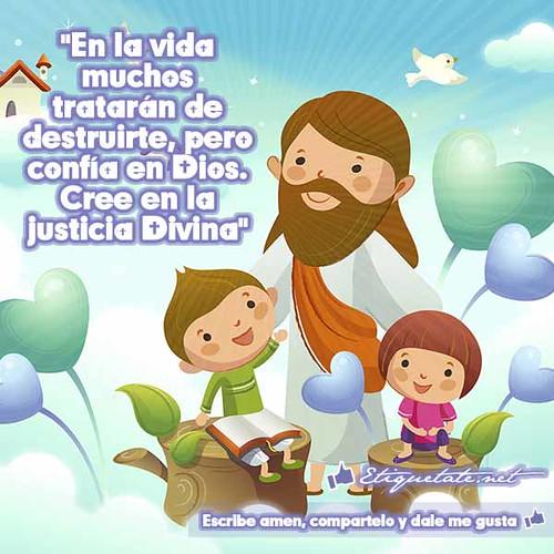 Frases Con Imágenes De Dios Con Frases Católicas Y