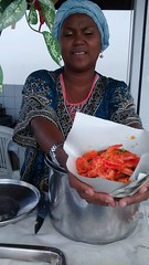 Acaraj (Jucrecio Carringa) Tags: brazil food brasil comida bahia oil salvador acaraj acaraje