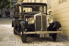 Renault Monaquatre 8 CV - Vienna (konceptsketcher) Tags: auto street old classic cars film 1931 1936 vintage french photography austria 8 retro renault type oldtimer cv 2014 monaquatre uy1 womaningold canon1100d konceptsketcher