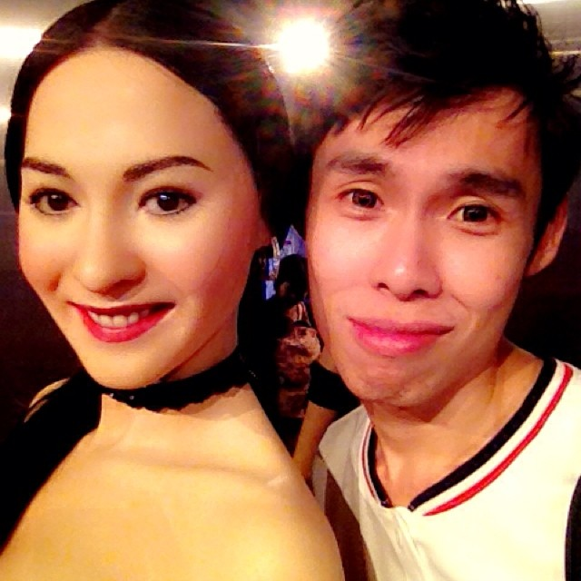 #laven #cecilia #artist #madamtussauds #hongkong #selfie Credit to Cecilia Cheung 很荣幸和柏芝姐合照
