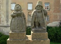 Republika Czeska - Czechy (tomek034 (Thank you for the 1 200 000 visits)) Tags: republikaczeska czechy novéměstonadmetují zamek rzeźba