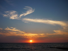 Sunset /  (Rabbyt_dru) Tags: panasonic dmcfs3 panasonicdmcfs3 lumix blacksea russia beautiful summer sun