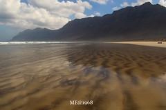LANZAROTE - Famara Beach (iw2ijz) Tags: spiaggia lanzarote spagna isola canarie panorama mare sera isla island pitone serpente snake beach