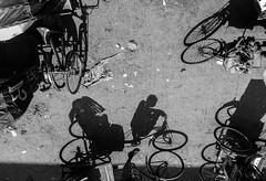 Wheels around us (Aranya Ehsan) Tags: wheel people life lifestyle dailylife shadow light aranya rickshaw foot bangladesh street