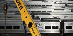 West Side Trainyard (JMichaelSullivan) Tags: nyc new york city manhattan trains westside nikon d800
