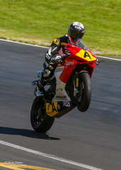 Alex Phillis - MV Agusta (Spark-Photo) Tags: shoraihamptondownspostclassic wheelie hampton downs mv agusta 675 postclassic hamptondowns